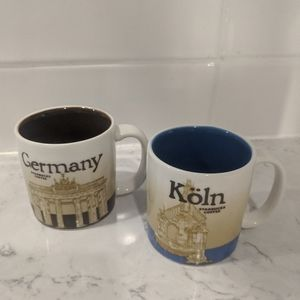 Germany Collector Series Starbucks Espresso Mugs